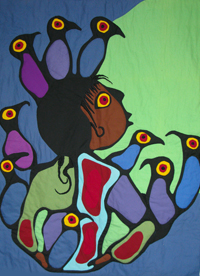 Otters - Norval Morrisseau